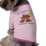 Favourite Hangout Papou's House Pet Tee Shirt