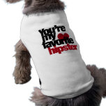 Favourite Hipster Pet T-shirt