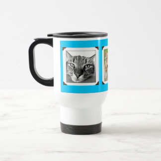 Favourite Pet Photos Cat Lovers Travel Mug
