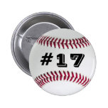 Favourite Player Baseball Button #2