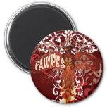 Fawkes Spread Wings Fridge Magnet