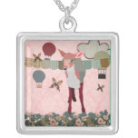 Fawn At Pink Dawn Necklace