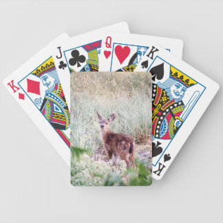 Fawn Bicycle Playing Cards