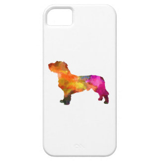 Fawn Brittany Basset in watercolor iPhone 5 Covers