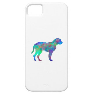 Fawn Brittany Griffon in watercolor iPhone 5 Cases