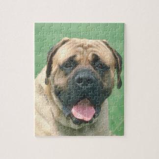 Fawn Bullmastiff Dog Puzzle