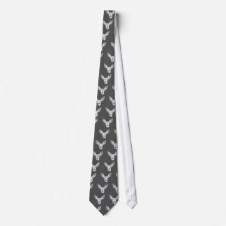 Fawn deer tie