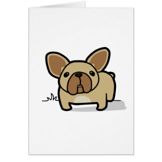 Fawn Frenchie Card