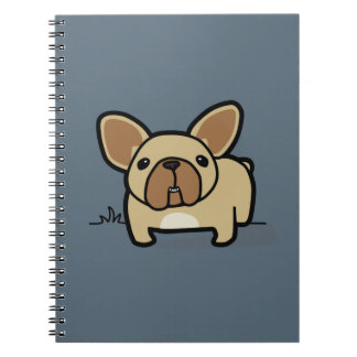 Fawn Frenchie Notebook