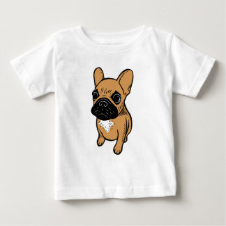 Fawn Frenchie Puppy Baby T-Shirt