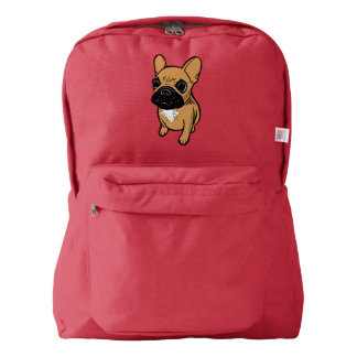 Fawn Frenchie Puppy Backpack