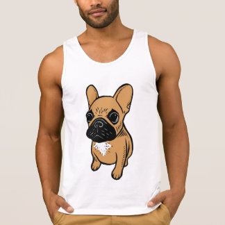 Fawn Frenchie Puppy Singlet