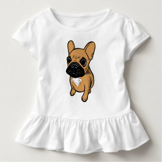 Fawn Frenchie Puppy Toddler T-Shirt