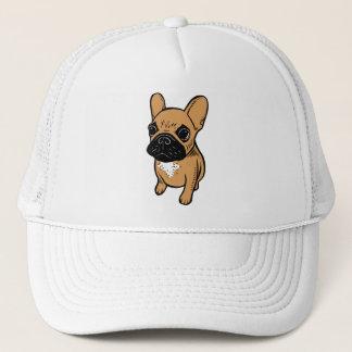 Fawn Frenchie Puppy Trucker Hat