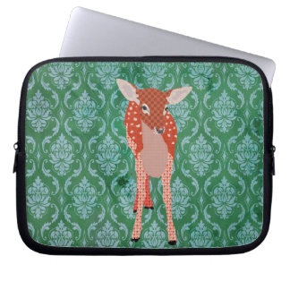 Fawn Green Computer Sleeve