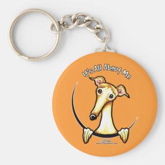 Fawn Greyhound IAAM Key Ring