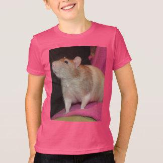 fawn hooded rat T-Shirt