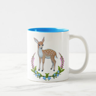 Fawn in Foxgloves Mug