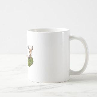 FAWN IN GRASS COFFEE MUGS