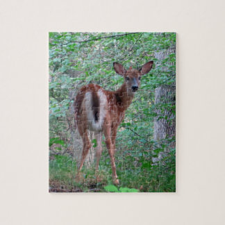 Fawn in the Woods Design Jigsaw Puzzle