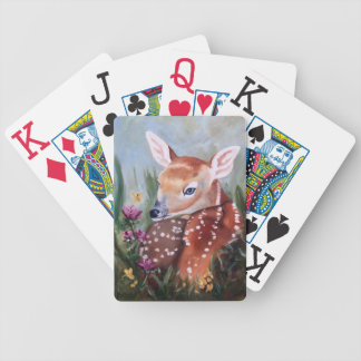 Fawn Innocence Bicycle Playing Cards
