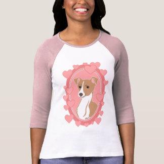 Fawn Italian Greyhound Women's Raglan T-Shirt