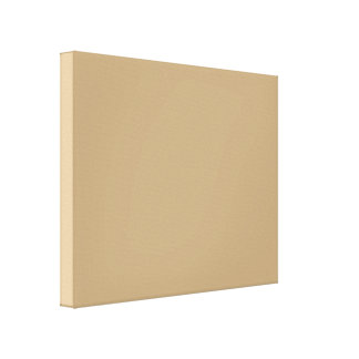 Fawn  light brown gallery wrapped canvas