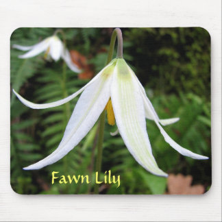 Fawn Lily Mousepad