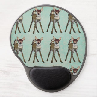 FAWN & OWL Mousepad Gel Mouse Pad