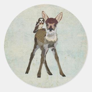 FAWN & OWL Sticker