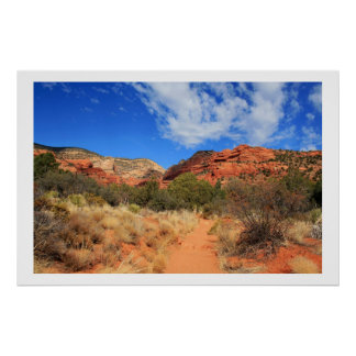 Fay Canyon Landscape Poster