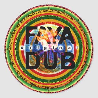 Faya Dub Stickers