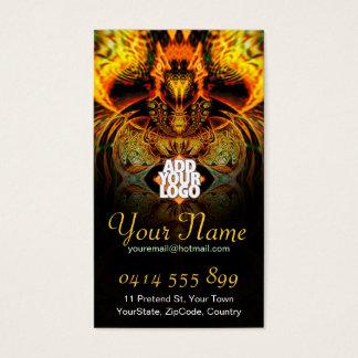 Fayariaz Fractal Business Card
