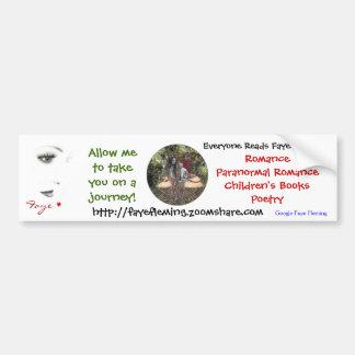 Faye Fleming Bumper Stickers