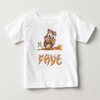 Faye Owl Baby T-Shirt