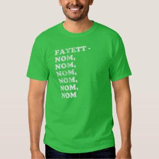 FAYETT-NOM, NOM, NOM, NOM, NOM - MALE TEES