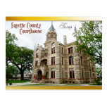 Fayette County Courthouse, La Grange, Texas Post Cards