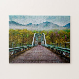 Fayette Station West Virginia. Jigsaw Puzzle