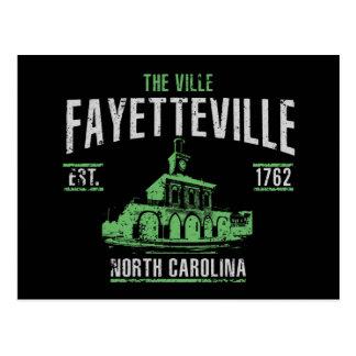 Fayetteville Postcard
