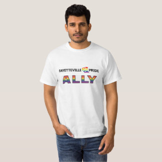 Fayetteville Pride Ally Tee