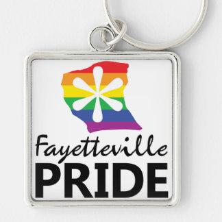 Fayetteville Pride Keychain