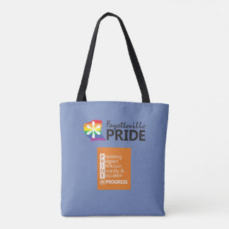 Fayetteville Pride Logo Bag