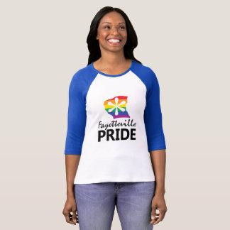 Fayetteville Pride Logo Baseball Tee
