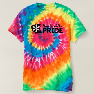 Fayetteville Pride Tie-Dye Tee