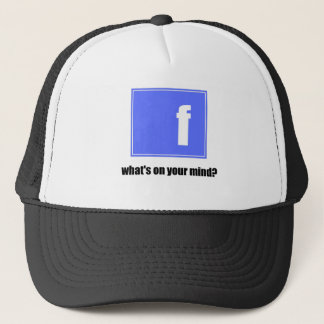 fb trucker hat