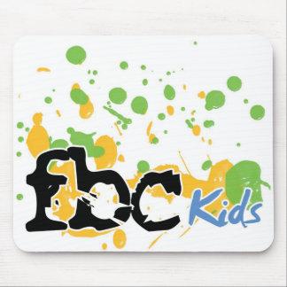 FBC Kids Splash Logo Mouse Pad