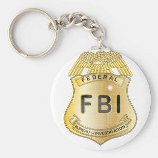FBI Badge Key Ring