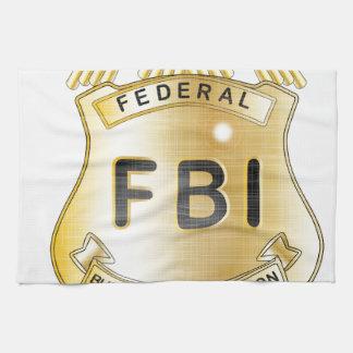 FBI Badge Tea Towels