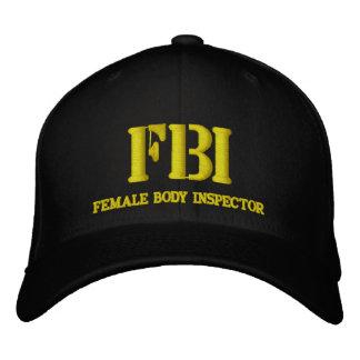 FBI EMBROIDERED HAT