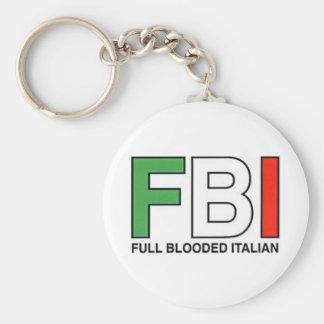 FBI = Full Blooded Italian Key Ring